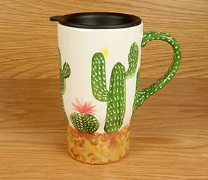 McKenzie Towne Cactus Travel Mug
